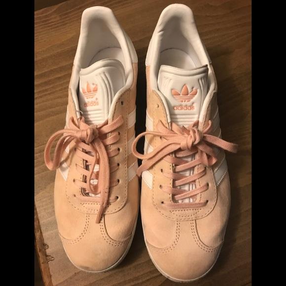 Adidas zapatos tamaño 8 Gazelle zapatillas en color rosa poshmark